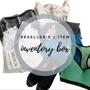 Reseller inventory not so mystery box 7 piece
